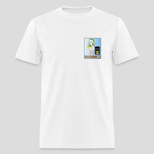 AwesomeFest White T  2011 - Men's T-Shirt