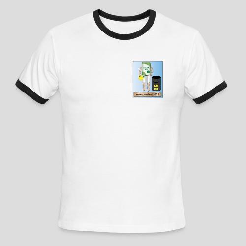Ringer Style AwesomeFest T-shirt 2011 - Men's Ringer T-Shirt