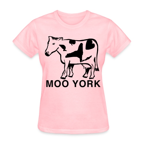 Moo York Shirt by New York Old School - Women's T-Shirt