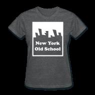 Women's T-Shirts ~ Women's T-Shirt ~ New York Old School Logo Shirt by New York Old School