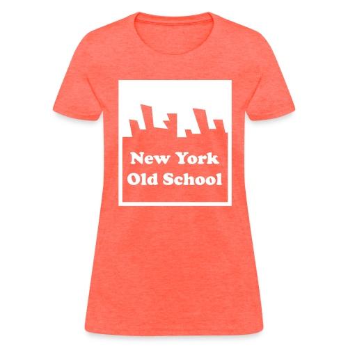 New York Old School Logo Shirt by New York Old School - Women's T-Shirt