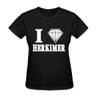 Women's T-Shirts ~ Women's T-Shirt ~ Herkimer Shirt by New York Old School