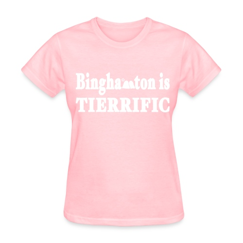 Binghampton is Tierrific Shirt by New York Old School - Women's T-Shirt