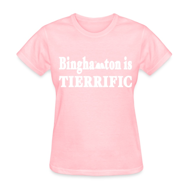 Binghampton is Tierrific Shirt by New York Old School