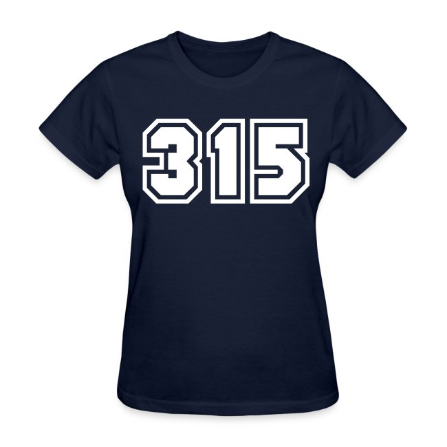 Area Code 315 Shirt by New York Old School