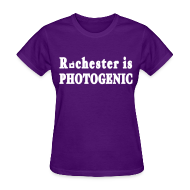 Women's T-Shirts ~ Women's T-Shirt ~ Rochester is Photogenic Shirt by New York Old School