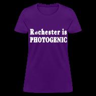 Women's T-Shirts ~ Women's T-Shirt ~ Rochester is Photogenic Shirt by New York Old School
