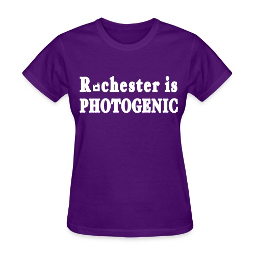 Rochester is Photogenic Shirt by New York Old School - Women's T-Shirt