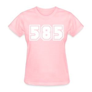 Area Code 585 Shirt by New York Old School  - Women's T-Shirt