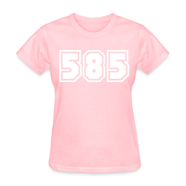 Area Code 585 Shirt by New York Old School