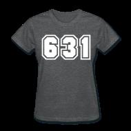 Women's T-Shirts ~ Women's T-Shirt ~ Area Code 631 Shirt by New York Old School
