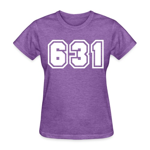 Area Code 631 Shirt by New York Old School  - Women's T-Shirt