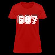 Women's T-Shirts ~ Women's T-Shirt ~ Area Code 607 Shirt by New York Old School