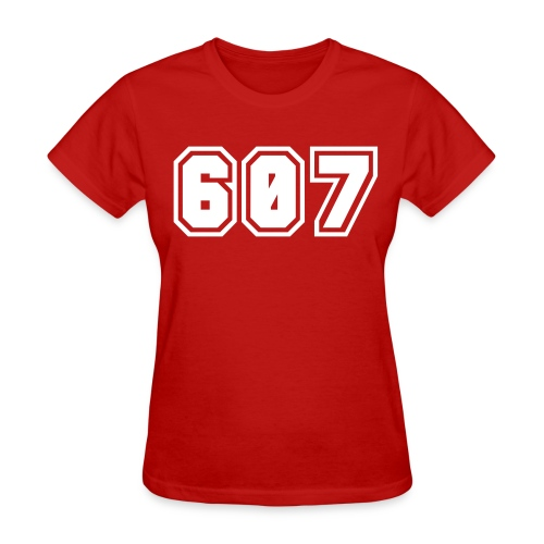 Area Code 607 Shirt by New York Old School  - Women's T-Shirt