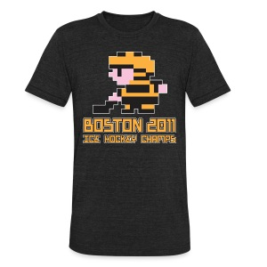 Boston Ice Hockey Champs - Unisex Tri-Blend T-Shirt by American Apparel