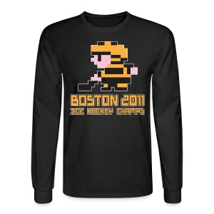 Boston Ice Hockey Champs - Men's Long Sleeve T-Shirt
