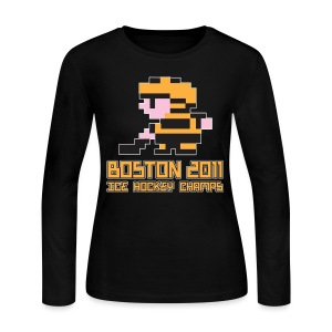 Boston Ice Hockey Champs - Women's Long Sleeve Jersey T-Shirt