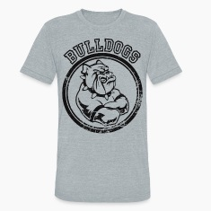 Custom Bulldog Sports Team Graphic T-Shirts