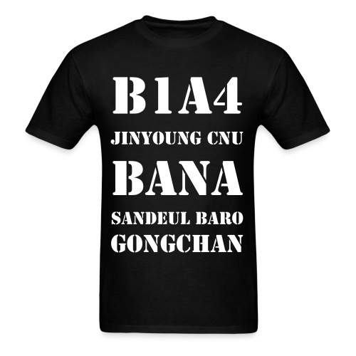 B1A4 Collage - Men's T-Shirt