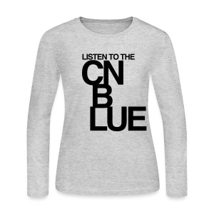 [CNB] Listen to the CN Blue - Women's Long Sleeve Jersey T-Shirt