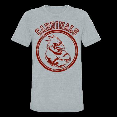 Custom cardinals team graphic mascot t shirts t shirt for Custom team t shirts