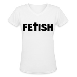 [2NE1] Fetish - Women's V-Neck T-Shirt