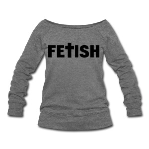 [2NE1] Fetish - Women's Wideneck Sweatshirt