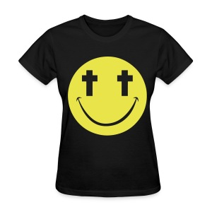[2NE1] Minzy Smiley Face - Women's T-Shirt
