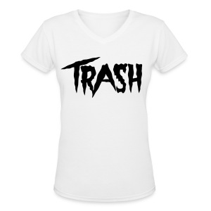 [2NE1] CL Trash - Women's V-Neck T-Shirt