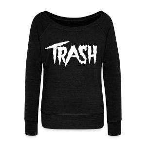 [2NE1] CL Trash - Women's Wideneck Sweatshirt