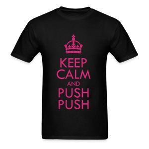 [SISTAR] Keep Calm & Push Push - Men's T-Shirt