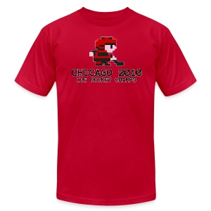 Chicago 2010 Ice Hockey Champs - Men's T-Shirt by American Apparel