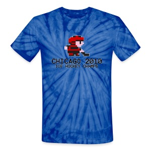 Chicago 2010 Ice Hockey Champs - Unisex Tie Dye T-Shirt