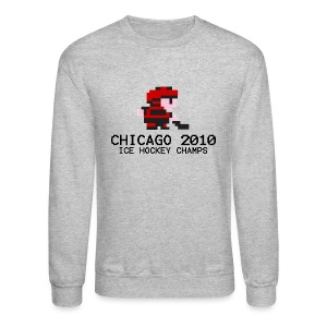 Chicago 2010 Ice Hockey Champs - Crewneck Sweatshirt
