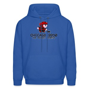 Chicago 2010 Ice Hockey Champs - Men's Hoodie