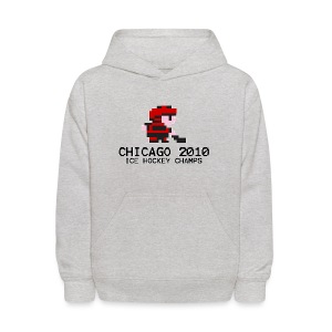 Chicago 2010 Ice Hockey Champs - Kids' Hoodie