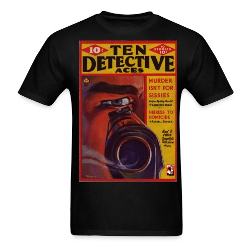 Ten Detective Aces - Men's T-Shirt