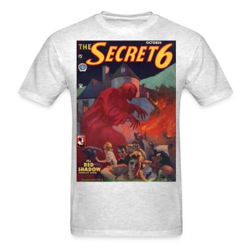 Secret 6: The Red Shadow - Men's T-Shirt