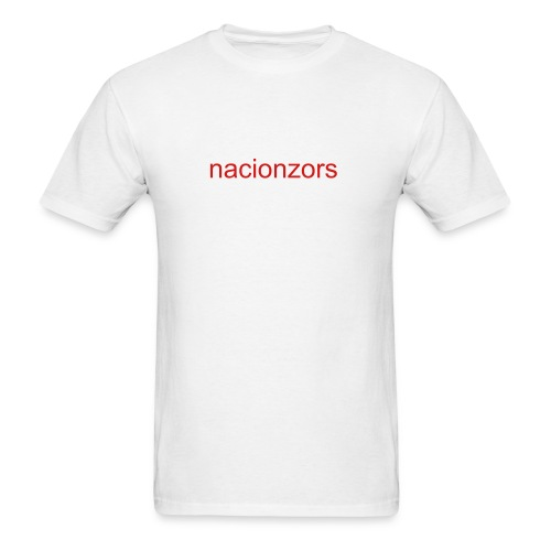 Nacionzors short sleeve - Men's T-Shirt