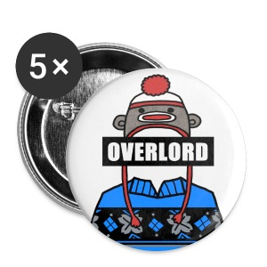 Misha Collins [Overlord] (DESIGN BY MICHELLE) - Large Buttons