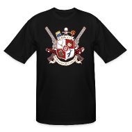 T-Shirts ~ Men's Tall T-Shirt ~ Family Don't End With Blood crest
