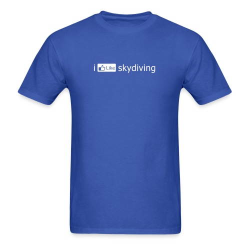 i [LIKE] skydiving (Men's) - Men's T-Shirt