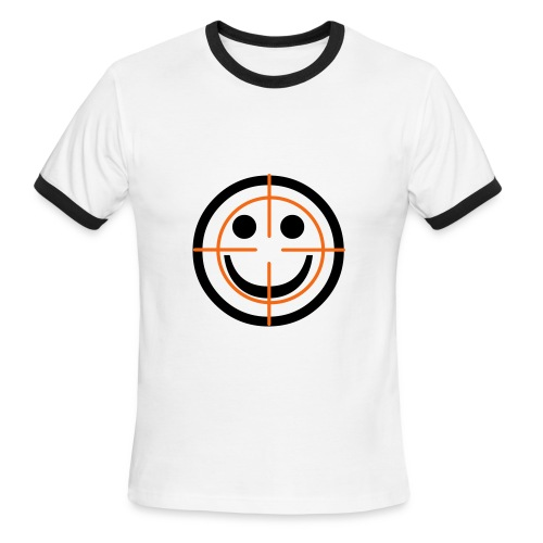 Death With A Smile - Men's Ringer T-Shirt