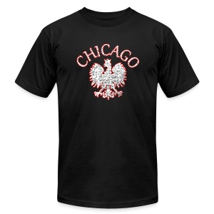 Polish Eagle Chicago - Men's T-Shirt by American Apparel