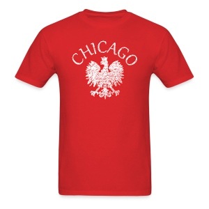 Polish Eagle Chicago - Men's T-Shirt