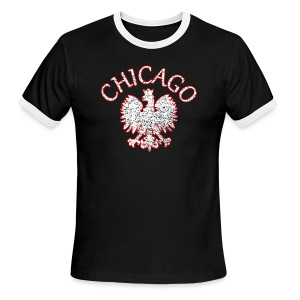 Polish Eagle Chicago - Men's Ringer T-Shirt