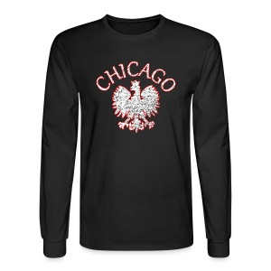 Polish Eagle Chicago - Men's Long Sleeve T-Shirt