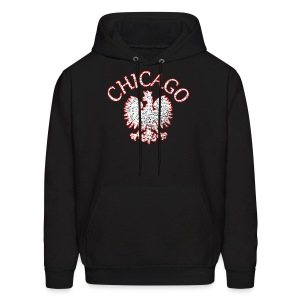 Polish Eagle Chicago - Men's Hoodie
