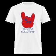 T-Shirts ~ Men's T-Shirt ~ TFF Logo White