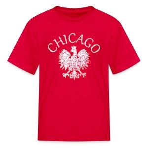 Polish Eagle Chicago - Kids' T-Shirt